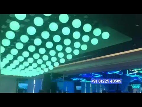 Kinetic Light | Kinetic LED Ball Ceiling Hanging Decoration India +91 81225 40589