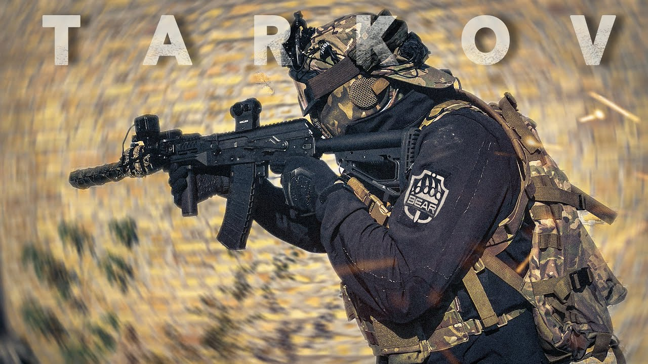 fairTX - Abandoned Factory Airsoft feels like Tarkov (Airsoft AK-12 Gameplay)