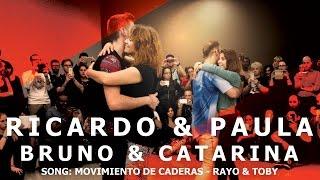 Ricardo & Paula - Bruno & Catarina  Tarraxinha Dance (Afrolatin Connection) @ KIZMI 2016