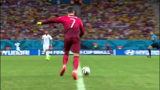 Cristiano Ronaldo 'Chop' vs USA - HD