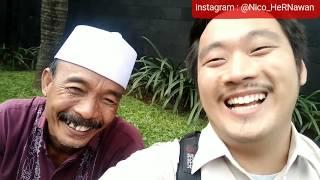 (9) BTS Tukang Ojek Pengkolan 2018 - Syuting Pak Haji Sodik,Koh Iwan,dan Zahra