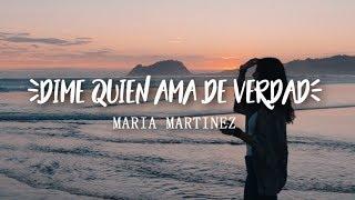 Dime quien ama de verdad - Beret (Cover de Maria Martinez Abalia)