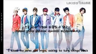 U-KISS - Standing Still (eng sub + romanization + hangul) [HD]