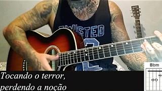 Cê acredita - João Neto e Frederico MC Kevinho aula como tocar no violão (Simplificada)