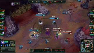 AD Tank Sion Ulti One Shot Ashe