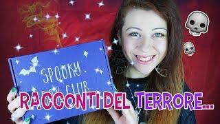 Una Box di Racconti del Terrore!  💀 Tales of Terror Spooky Box Club