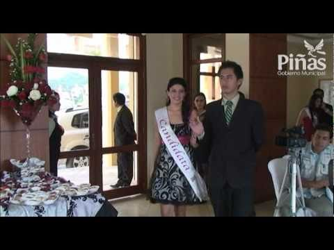 Cóctel de presentacion de las candidatas a Reina de Piñas 2010