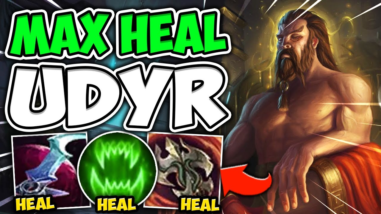 MetaSolaray - MAX HEAL UDYR HEALS TO 100% HP WITH 1 AUTO! THIS IS UNREAL HEALING - League of Legends