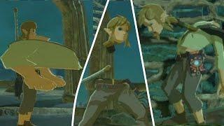 Breath of the Wild: Link's broken Body