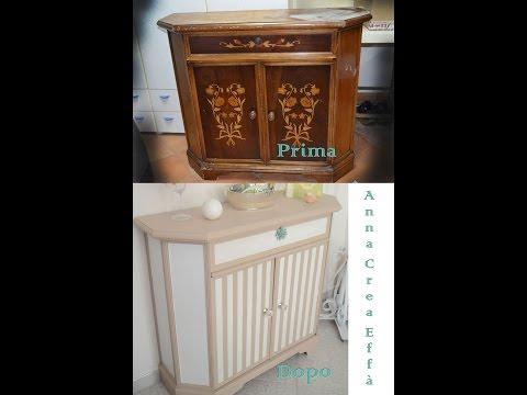 Come riutilizzare un vecchio mobile fai da te mania - Dipingere mobili laminato ...