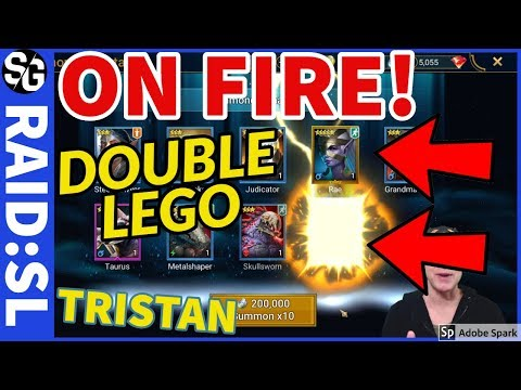 RAID SHADOW LEGENDS | MEGA SUMMONS LEGO LUCK!