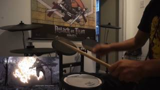 Youjo Senki Op Jingo Jungle (By Myth&Roid) Drum Cover