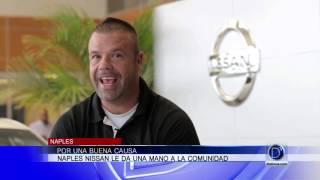 Por una buena causa Naples Nissan le da una mano a la comunidad