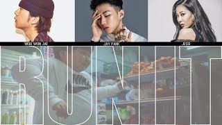 Jay Park - RUN IT Feat. Woo Won Jae & Jessi (Prod. by GRAY) MV + Lyrics Color Coded HanRomEng