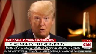 Donald Trump Defends Past Donations to Top Democrats - Us President Candidate 2016
