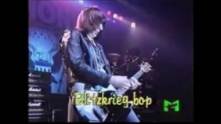 Ramones - Blitzkrieg Bop live March 16th, 1992, Rolling Stone, Milan