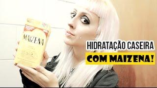"""Hidratação Caseira com Maizena: """"Touca de Gesso"""""""