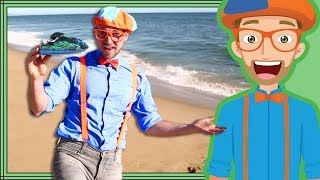 Blippi Jet Ski | Boats for Children | Educational Videos for Toddlers