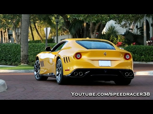 16 year old driving one-off Ferrari SP 275 RW Competizione