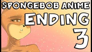 English Version - SpongeBob Anime Ending 3 ( Original Animation )