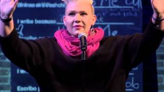 "Women of the World Poetry Slam Finals 2015 - Desiree Dallagiacomo ""Shave Me"""