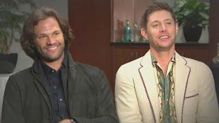 Jared Padalecki and Jensen Ackles Tear Up Talking Final Season of Supernatural (Exclusive)
