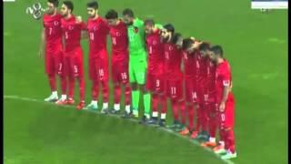 Türkiye-Yunanistan maçında tribünlerden ıslık ve tekbir sesleri yükseldi