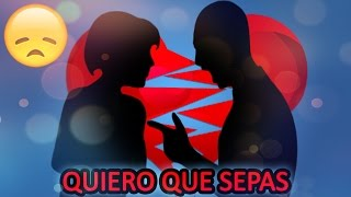 💔QUIERO QUE SEPAS💔 - [Rap Romantico 2016] Mc Richix Ft Jennix