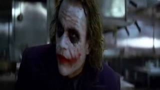 The Dark Knight with Laugh Track
