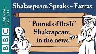 """Finn explains Shakespeare's """"pound of flesh"""""""