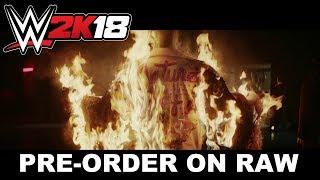WWE 2K18 Pre-order en Raw #3