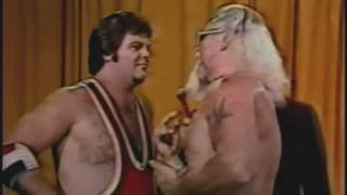Jerry Lawler Calls Jimmy Valiant A Fag (Gratuitous Replay) Classic Memphis Wrestling Moment