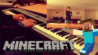 "Minecraft - ""Wet Hands"" [Piano & Handbell Cover] (ft. Classy Whale) 