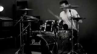 Deftones  - Be Quiet And Dive - Drum Cover