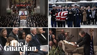The key moments from George HW Bush's funeral