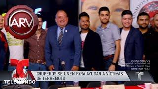 La Original Banda el Limón se prepara para ayudar a víctimas de México   Al Rojo Vivo   Telemundo