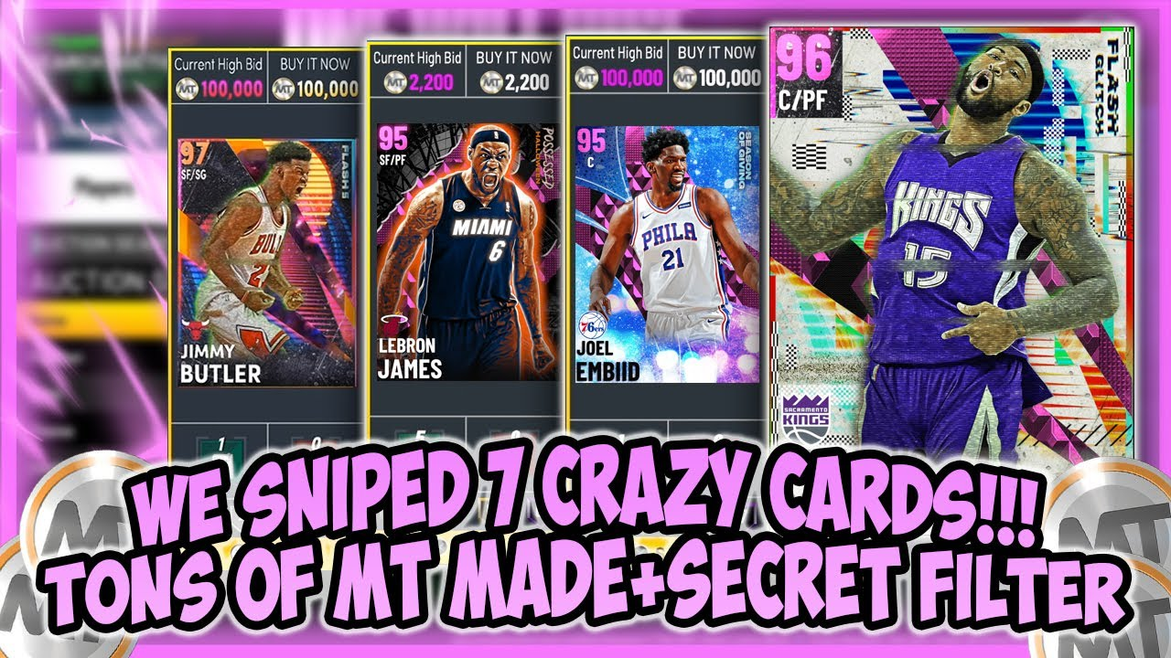 LogicLookss - NBA2K21 - 7 CRAZY PD SNIPES!! WE MADE TONS OF MT OFF THIS SECRET FILTER!! MAKE EASY+FAST MT!!