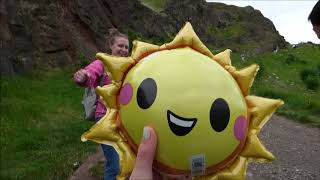 Edinburgh in June feat. Sunny the Sun Balloon