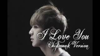 Jin - I Love You [Chipmunk Version]