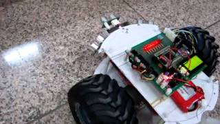 Guide Robot for the Blind