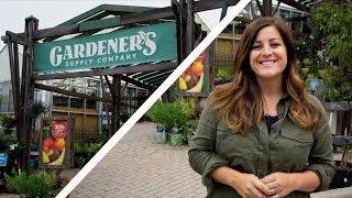 Tour of Gardener's Supply Company // Garden Answer width=