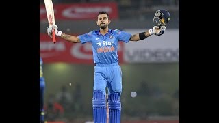 India vs Sri Lanka 5th Odi | Kohli Makes 139 Runs For 126 Ball width=