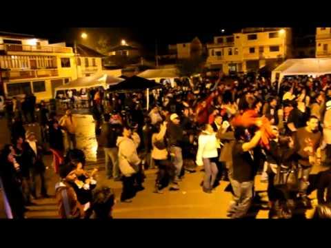 Fiestas San Miguel de Porotos 2010 en Ecuador Sabado 2 de Octubre