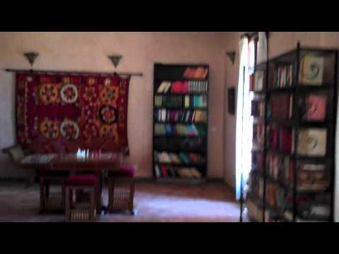 Dar Khalifa: 5 minute tour of Tahir Shah's home