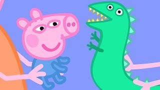 Peppa Pig Official Channel   Baby George Pig and Mr Dinosaur!