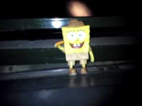 Spongebob on Safari