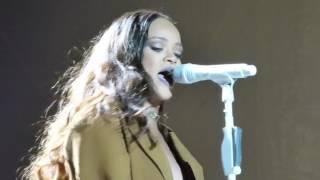 Rihanna Love On The Brain live Dublín 2016