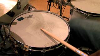 How to Play a 4/4 Drum Beat : Drum Lessons