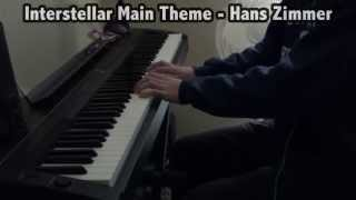 Interstellar Main Theme - Hans Zimmer (Piano Cover)