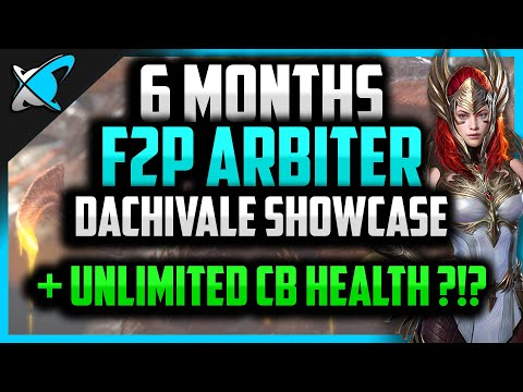 100% F2P ARBITER IN 6 MONTHS...again !?! | DachiVale Account Showcase | Unlimited CB Health ?!